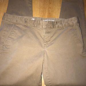 Khakis by Gap Skinny Mini Size 6